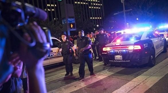 إصابة 5 ضباط شرطة بالرصاص في هيوستن الأمريكية