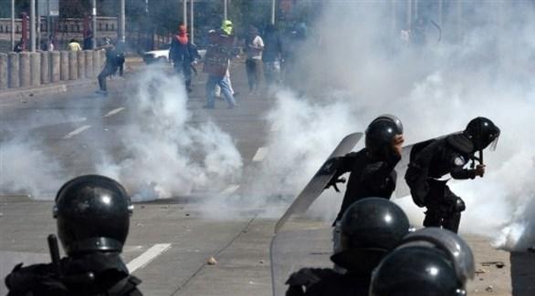 مواجهات بين الشرطة ومتظاهرين في هندوراس(أرشيف)