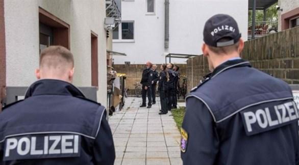عناصر من الشرطة الألمانية في مداهمة أمنية (أرشيف)