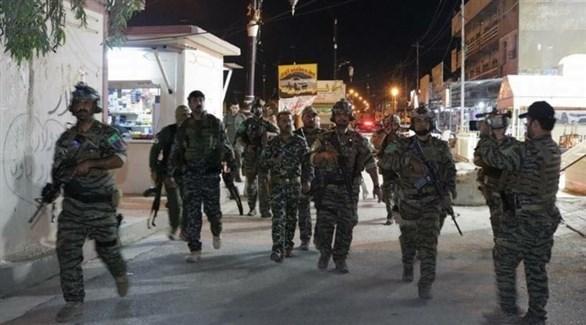 قوة أمنية عراقية في كركوك (أرشيف)