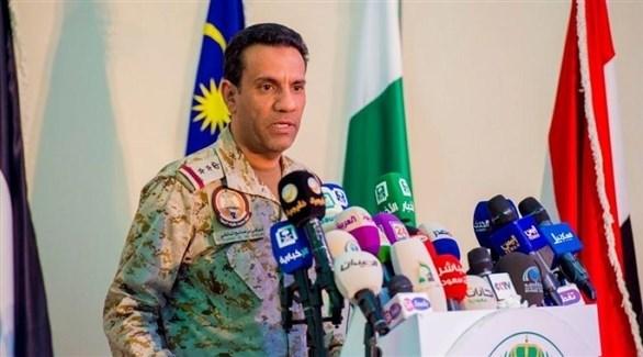 المتحدث الرسمي باسم قوات تحالف دعم الشرعية في اليمن، العقيد الركن تركي المالكي (أرشيف)