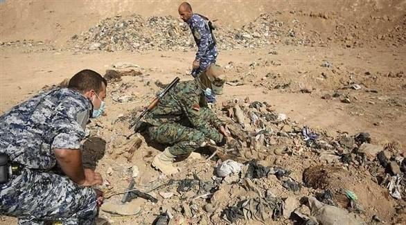 العثور على مقبرة جماعية  جنوب الموصل (أرشيف)
