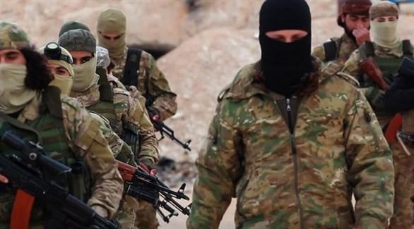 مقاتلون من هيئة تحرير الشام (أرشيف)