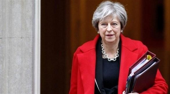 رئيسة الوزراء البريطانية تيريزا ماي(أرشيف)