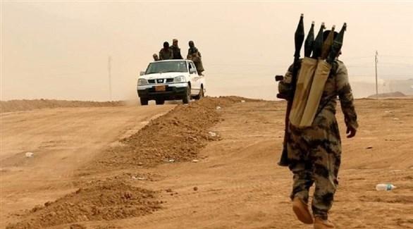 عناصر من تنظيم داعش الإرهابي(أرشيف)