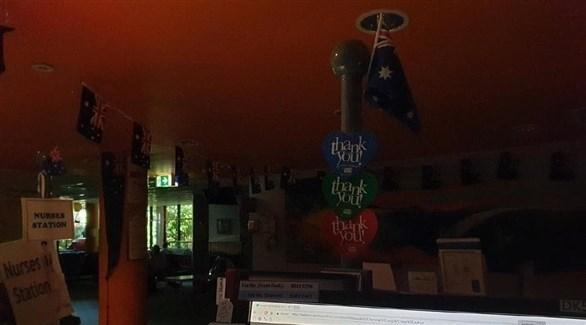 بيت أسترالي بلا كهرباء (أرشيف)