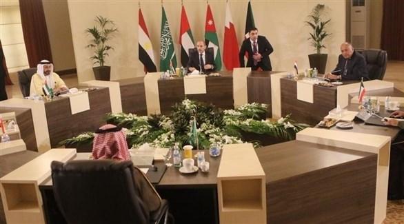 بدء أعمال الاجتماع السداسي العربي في الأردن (24)