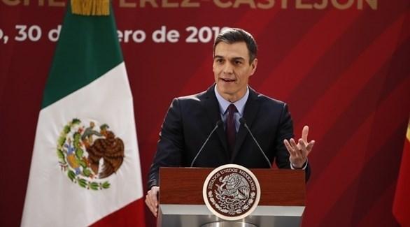 رئيس الحكومة الإسبانية بيدرو سانشيز في المكسيك (إيه بي أيه)