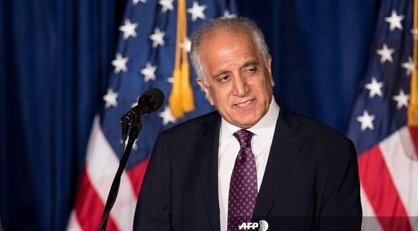 الموفد الأمريكي لأفغانستان زلماي خليل زاد (أ ف ب)