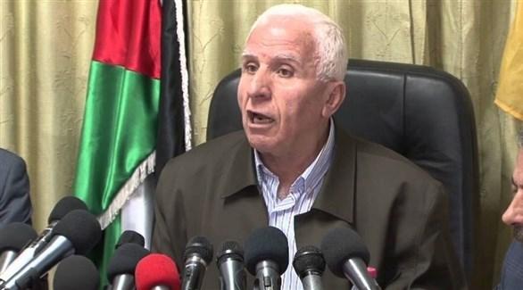 عضو اللجنتين التنفيذية لمنظمة التحرير الفلسطينية والمركزية لحركة فتح، عزام الأحمد (أرشيف)