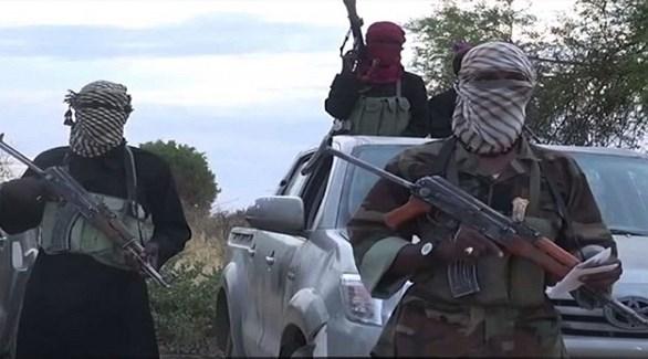 مسلحون من بوكو حرام الإرهابية في نيجيريا (أرشيف)
