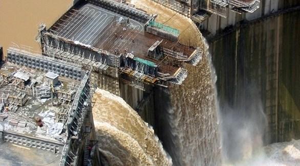 تقدم أشغال إقامة سد النهضة الأثيوبي (أرشيف)