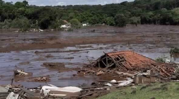 آثار انهيار سد البرازيل(أرشيف)