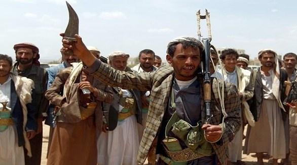 مسلحون من الميليشيا الحوثية في اليمن (عدن تايم)