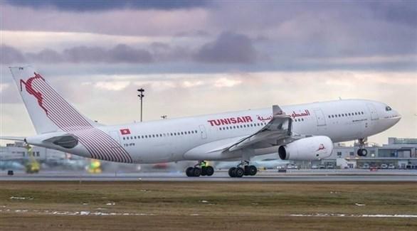 طائرة تابعة للخطوط الجوية التونسية