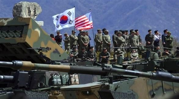 القوات الأمريكية والكورية الجنوبية (أرشيف)