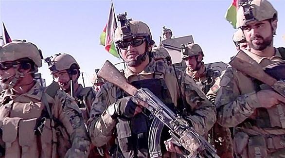 عناصر من القوات الخاصة الأفغانية (أرشيف)