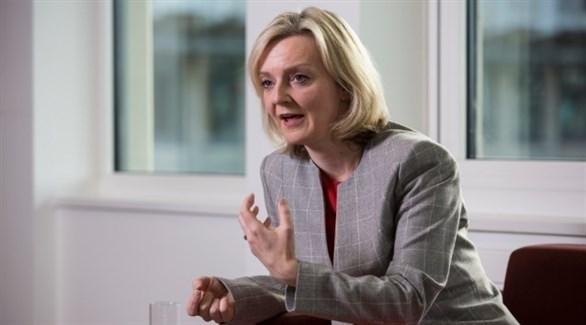 وزيرة الخزانة البريطانية ليز تراس (أرشيف)