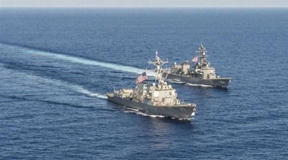 مدمرات أمريكية في بحر الصين الجنوبي (أرشيف)