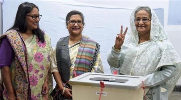 رئيسة الحكومة في بنغلاديش الشيخة حسينة واجد (أرشيف)