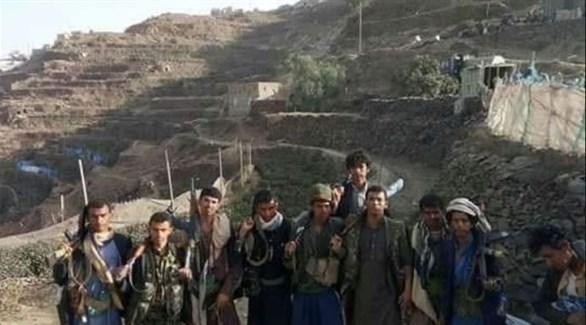 مسلحون من قبائل حجور اليمنية (تويتر)