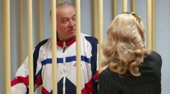العميل الروسي السابق سيرغي سكريبال أثناء محاكمته في موسكو (أرشيف)
