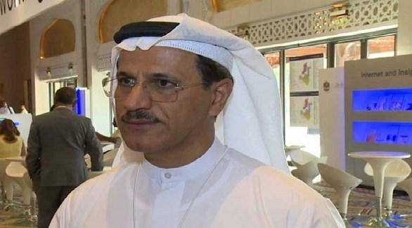 وزير الاقتصاد سلطان بن سعيد المنصوري (أرشيف)