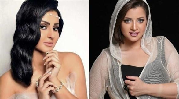 منى فاروق وشيما الحاج (أرشيف)