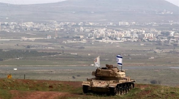 دبابة إسرائيلية على الحدود مع سوريا (أرشيف)