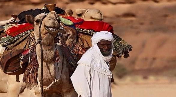 تاجر متجول من التبو في الصحراء الكبرى (أرشيف)