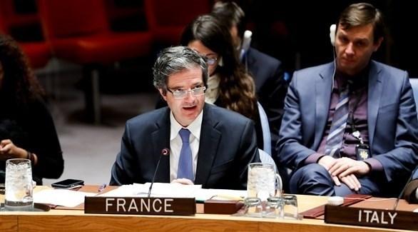 مندوب فرنسا في الأمم المتحدة فرانسوا ديلاتر (أرشيف)