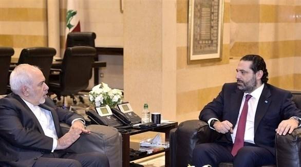 رئيس الوزراء اللبناني سعد الحريري يستقبل وزير الخارجية الإيراني محمد جواد ظريف (الجمهورية)