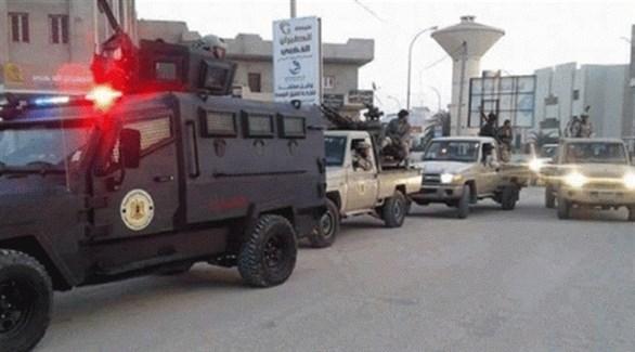 قوات أمنية وعسكرية في سبها الليبية (أرشيف)
