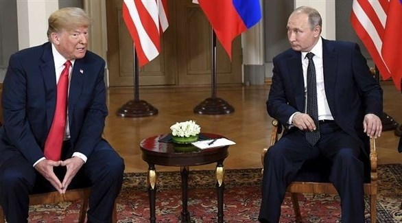 الرئيس الروسي فلاديمير بوتين والرئيس الأمريكي دونالد ترامب (أرشيف)