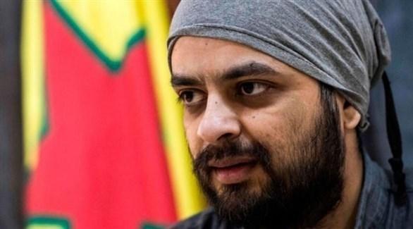 الكندي محمد علي المعتقل لدى قوات سوريا الديمقراطية (أ.ف.ب)