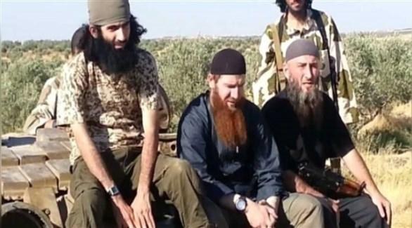 قيادات أجنبية مقربة من زعيم تنظيم داعش في سوريا (أرشيف)