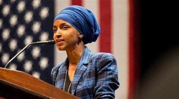 النائب الأمريكية المسلمة إلهان عمر (أرشيف)