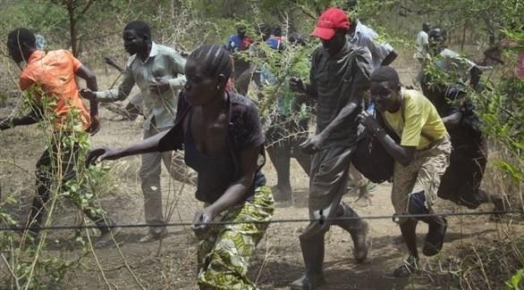 نازحون من جنوب السودان (أرشيف)