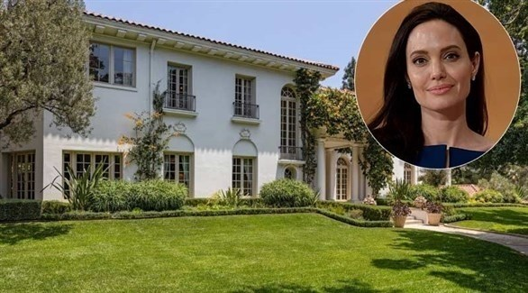 منزل أنجيلينا جولي في ولاية كاليفورنيا (هاللو ماغازين)