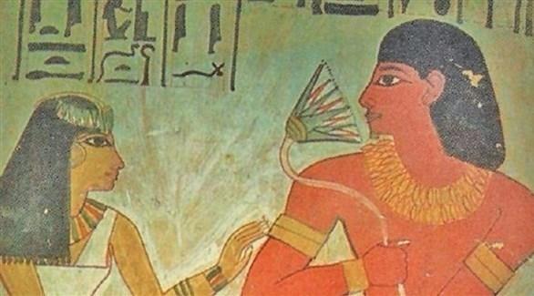رسم فرعوني (أرشيف)