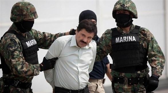 زعيم المخدرات المكسيكي خواكين غوزمان