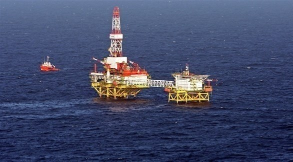 منصة بحرية لاستخراج الغاز في المياه الإقليمية المصرية (أرشيف)