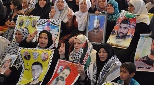 عائلات أسرى وشهداء في فلسطين (أرشيف)