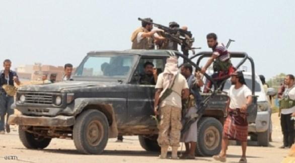 عناصر ميليشيا الحوثي الإرهابية (أرشيف)