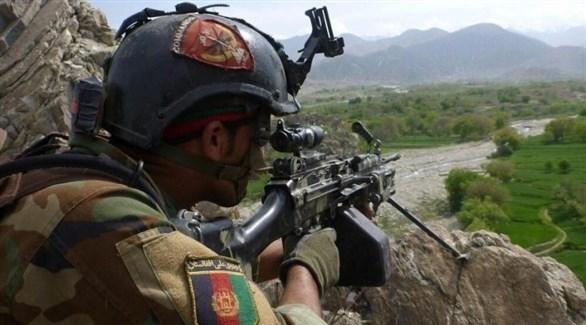 عنصر من القوات العسكرية الأفغانية (أرشيف)