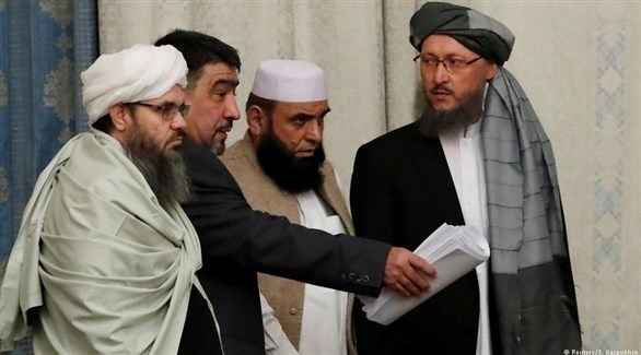 أعضاء من الوفود الأفغانية لمحادثات السلام (أرشيف)