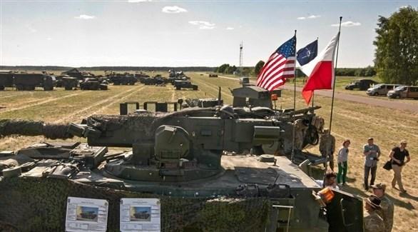 قوات أمريكية وبولندية مشتركة خلال مناورات عسكرية (أرشيف)