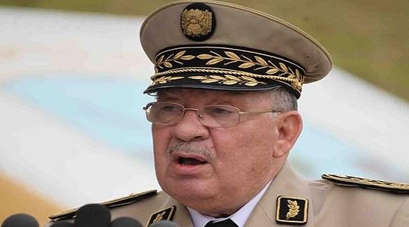 قائد الجيش الجزائري أحمد قايد صالح (أرشيف)