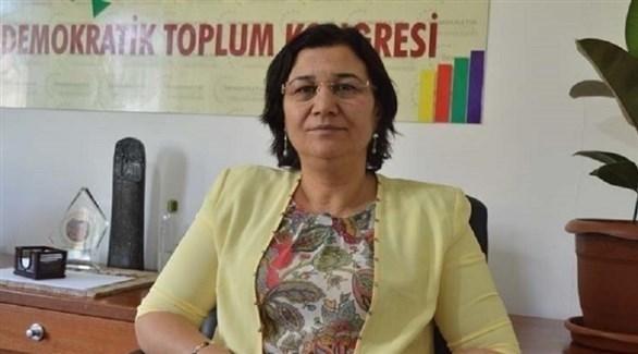البرلمانية الكردية التركية المضربة عن الطعام ليلي غوفين (أرشيف)