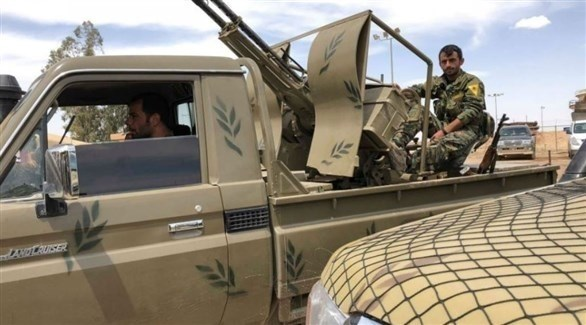 مسلحون من قوات سوريا الديمقراطية (أرشيف)